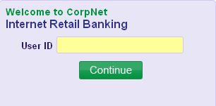 how to apply for internet banking in corporation bank online