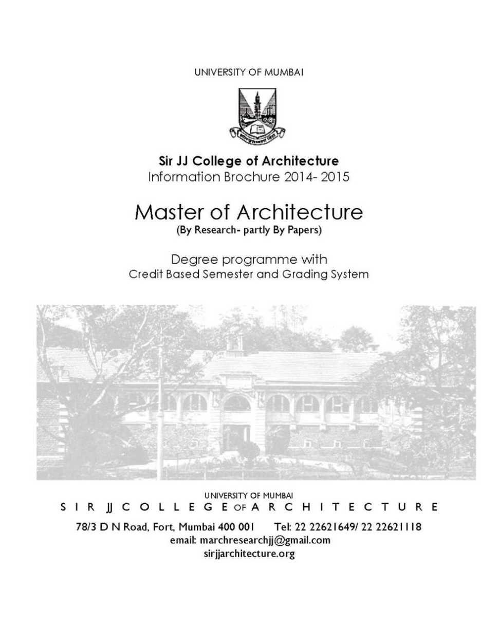 Admission in jj school of architecture 2017 2018 student for J j school of architecture