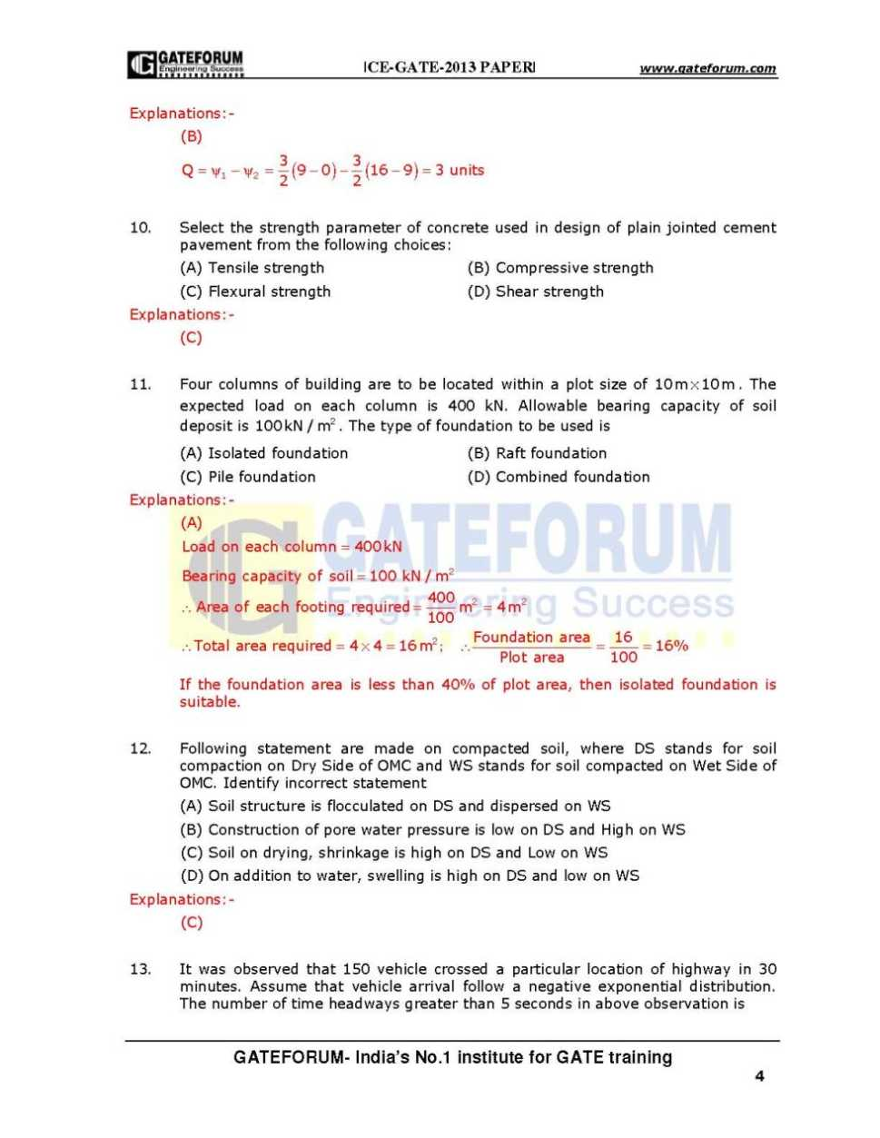 Gate Question Papers Pdf