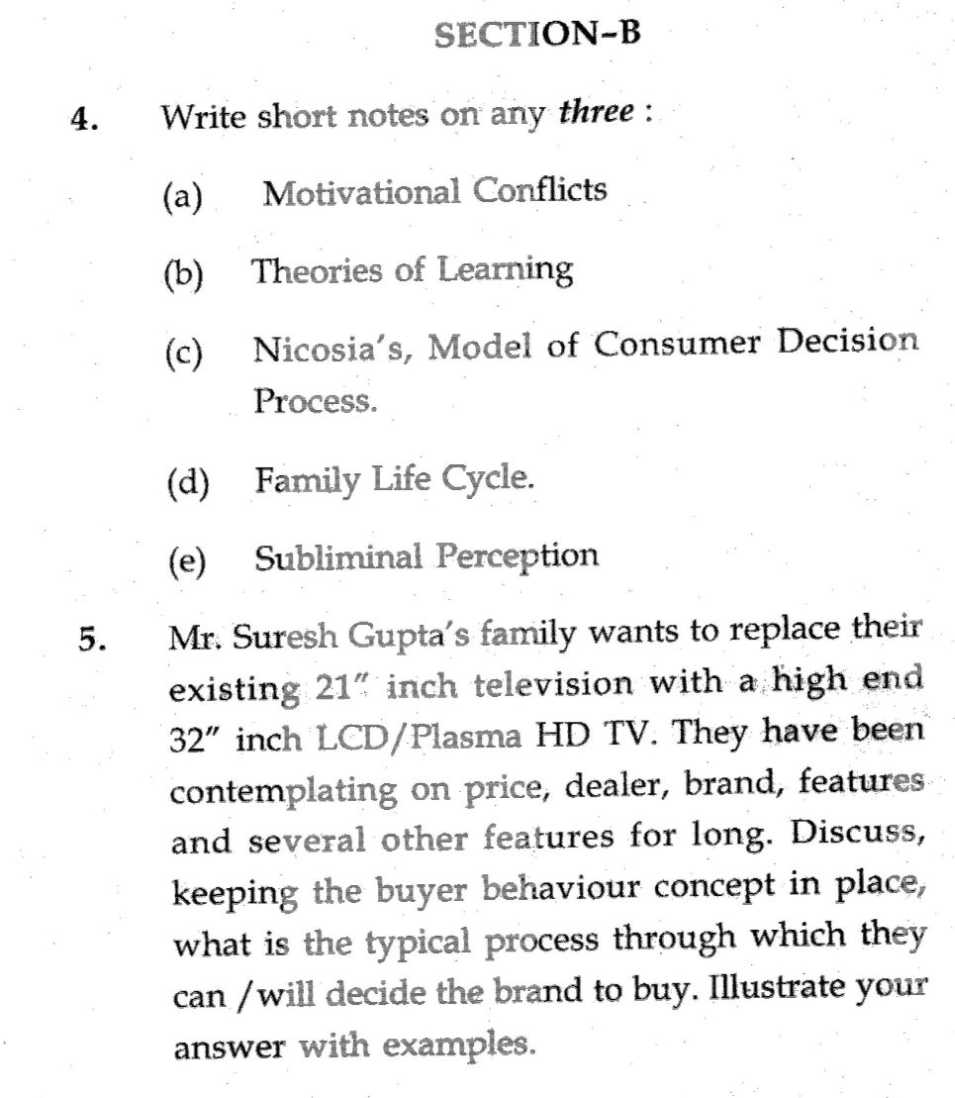 syllabus marketing and exam prepare questions Question: looking at it from the perspective of ubs—what did you  indicators to  an in-class case study of market integration and discuss the  examinations.
