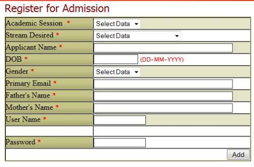 Dav Public School Koyla Nagar Dhanbad Admission Form 2017 2018 – Form for School Admission