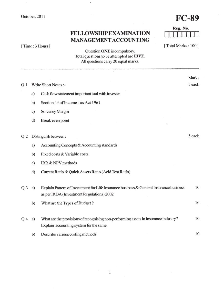 management accounting questions Management accounting, intermediate 6012b0237y  tutorial work - questions and answers past exams financial accounting theory questions and answers.
