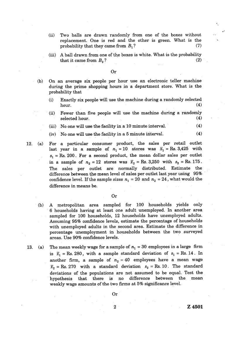 University Question Papers  May      Source recon