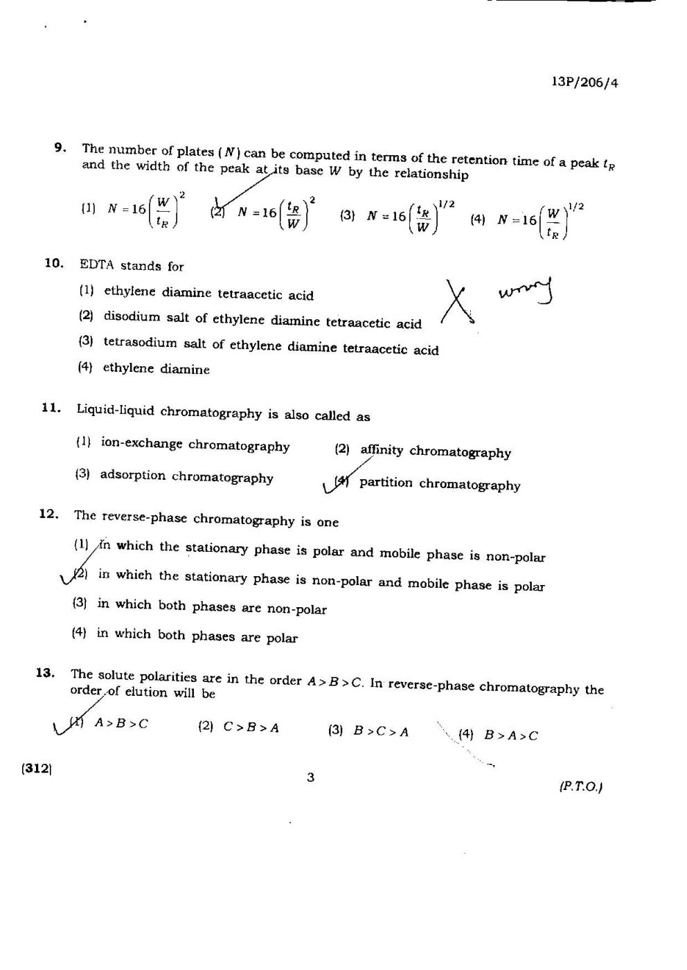 chemistry of life essay questions