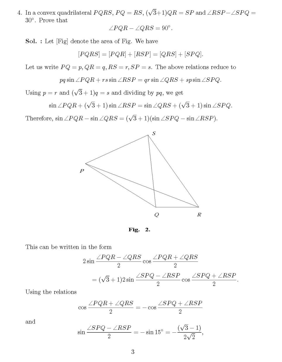 International Mathematics Olympiad Question Papers For Class