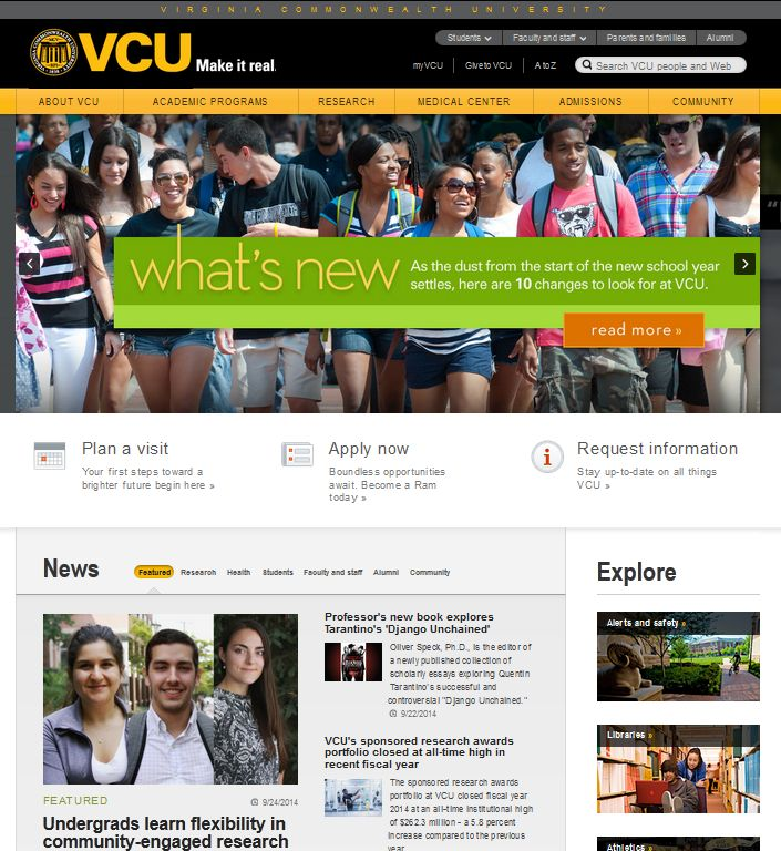 virginia commonwealth university admissions essay