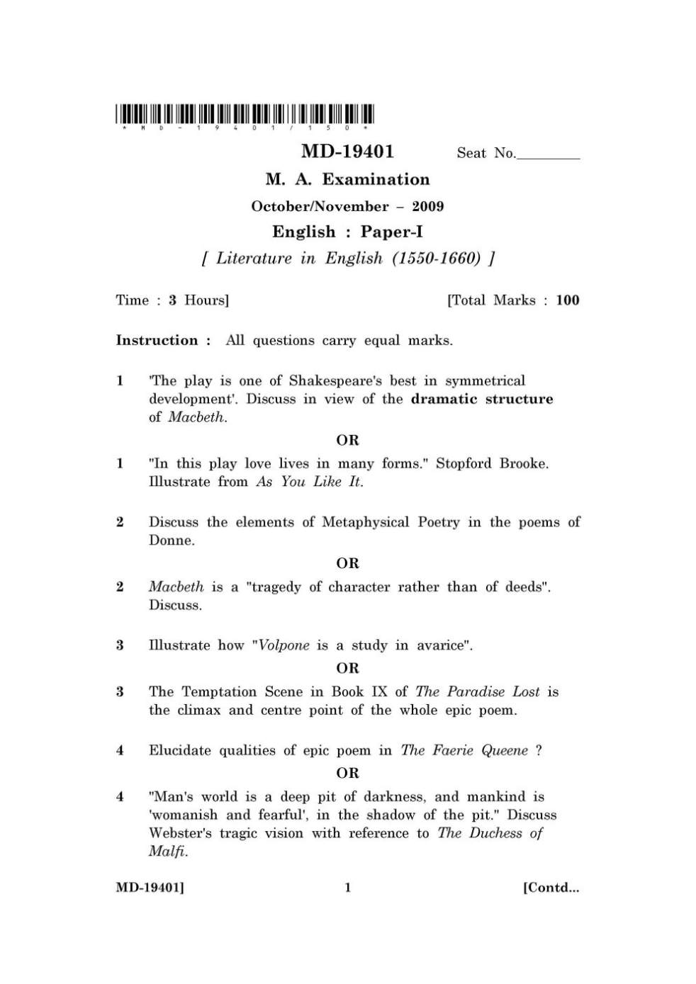 AP English Literature and Composition English Worksheets  Literature  Discussion questions for