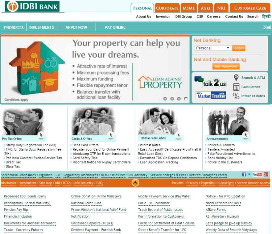 IDBI Bank Exam Form - 2015 2016 Student Forum