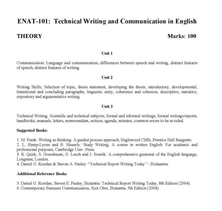 technical report writing today Technical report in a variety of disciplines and purposes also, this manual can be  used as a  appendix b – writing tips for results and discussion section.