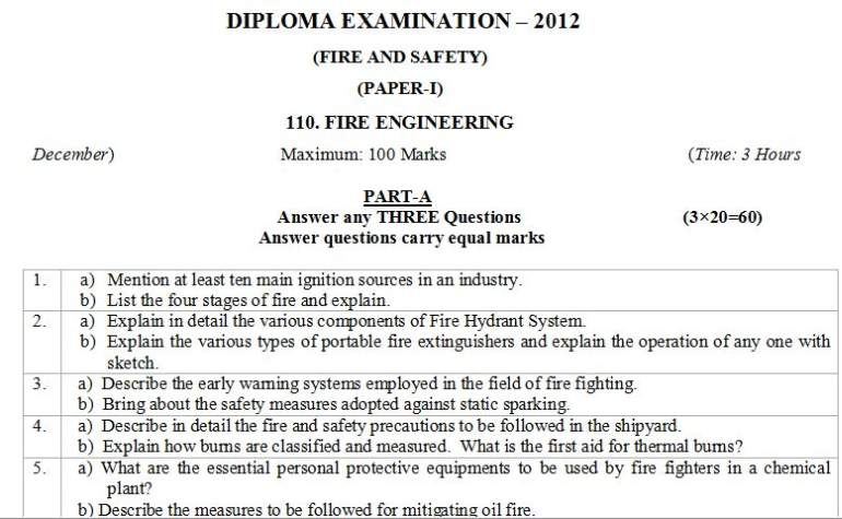 Overview of fire safety management management essay