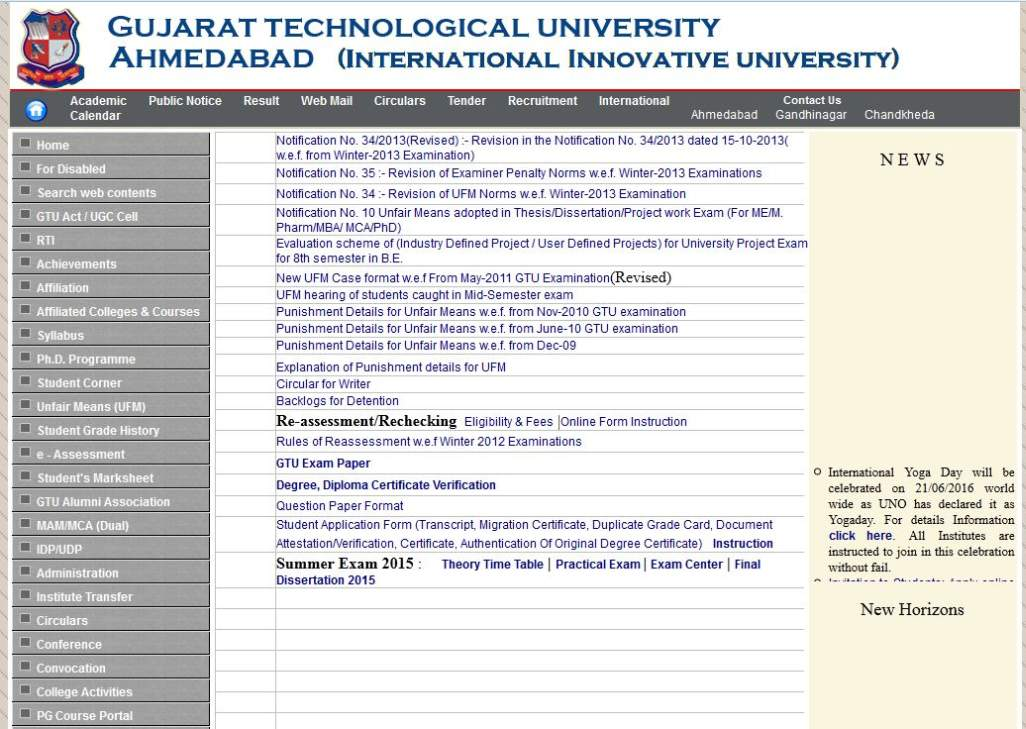 gtu m.pharm thesis guidelines 2016