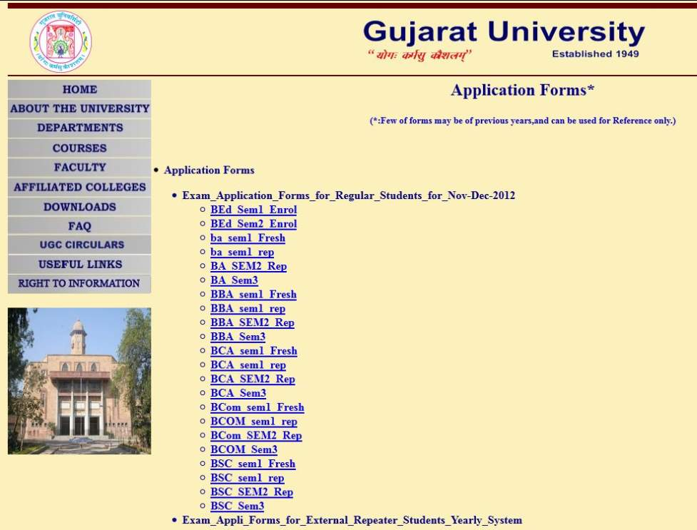 Online degree certificate gujarat university 2018 2019 student forum yadclub Image collections