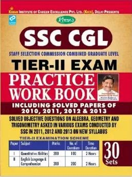Practice book for ssc cgl tier 2