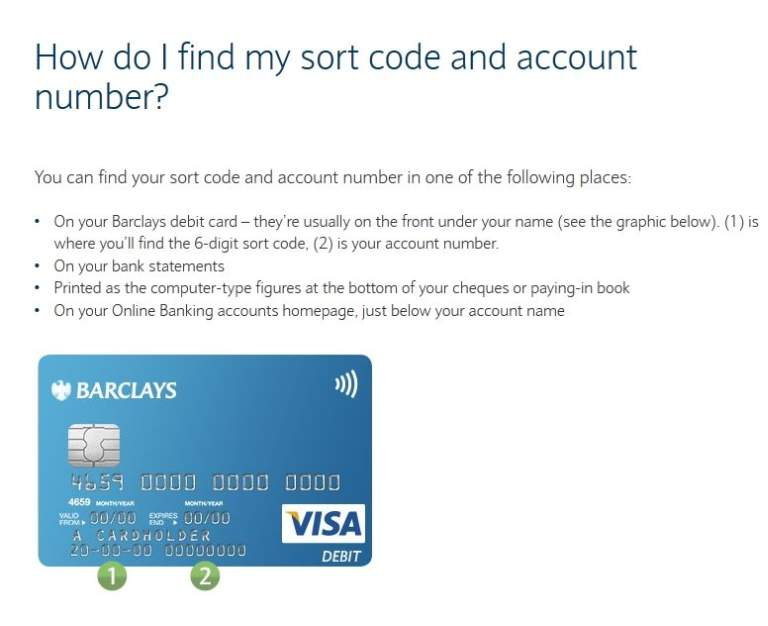 Account Number Barclays Bank 2017 2018 Student Forum