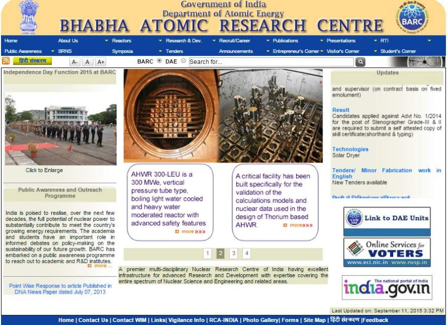 atomic research centre Choose from below list of 1 available hotels near bhabha atomic research  centre, srinagar for online hotel booking click on check price to see  additional.