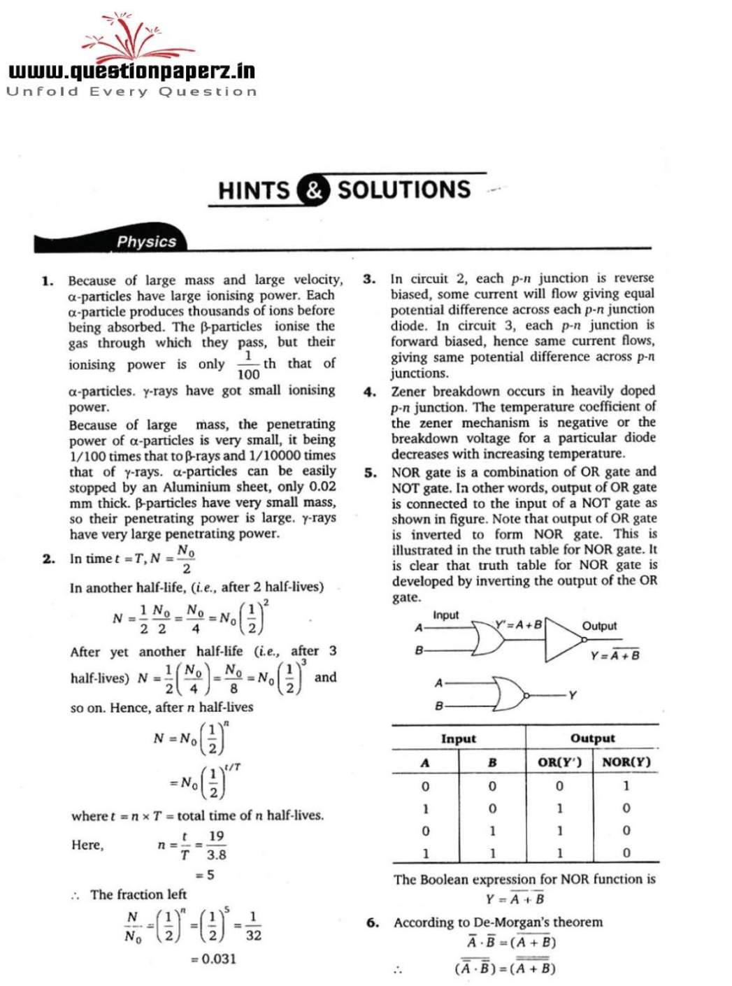 Viteee Previous Year Papers Pdf