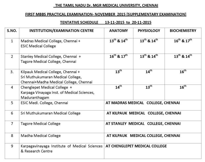 Anna University Exam Time Table 2015 Pdf
