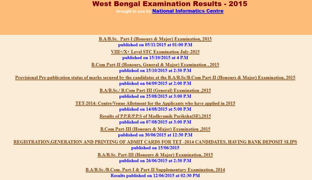 West bengal board of secondary education 2014