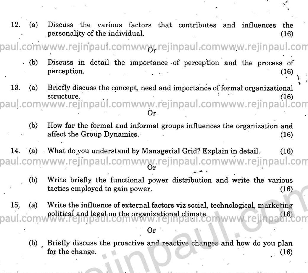 mba organizational behavior questions quick mba organizational mba organizational behavior question paper