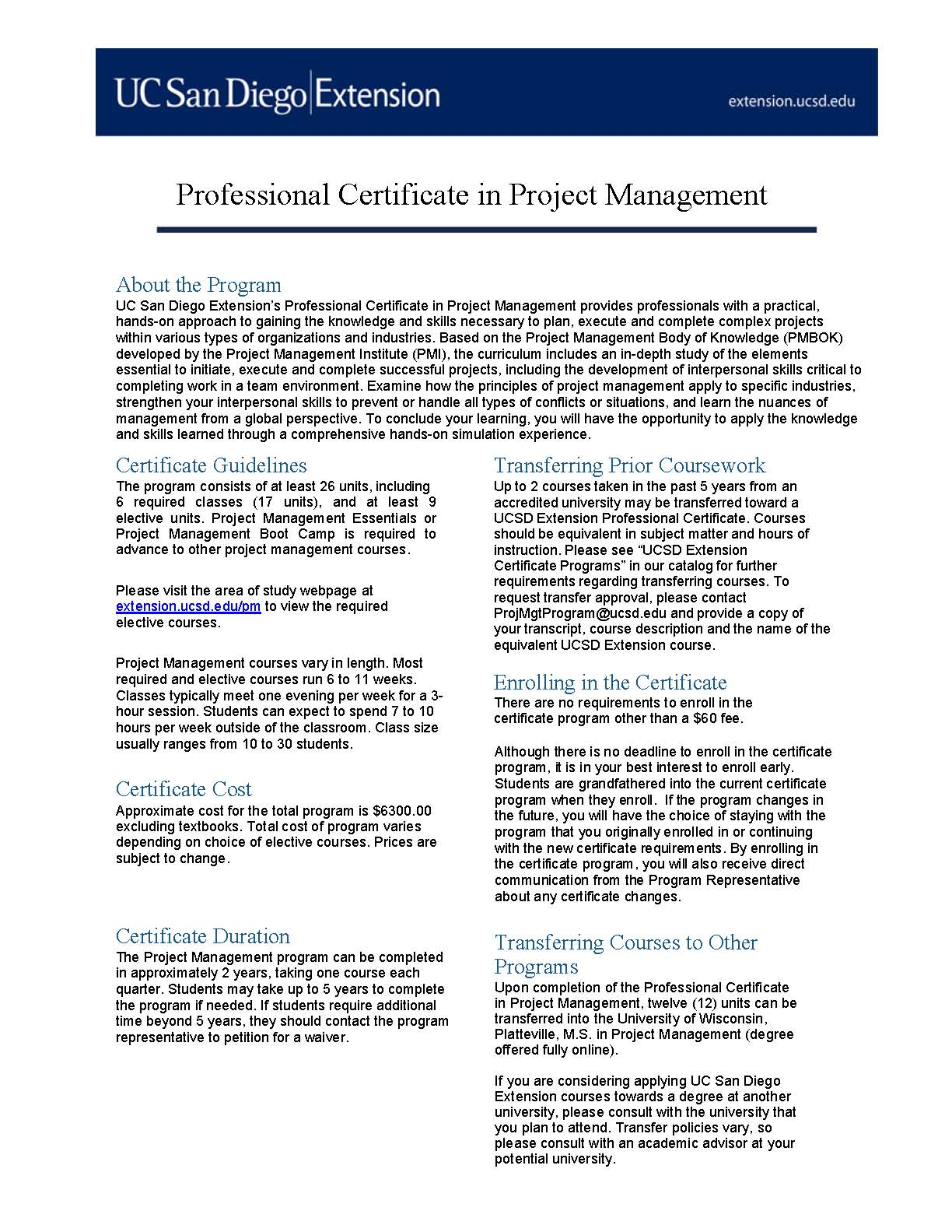 E Learning Healthcare Jobs Pmi Certification San Diego