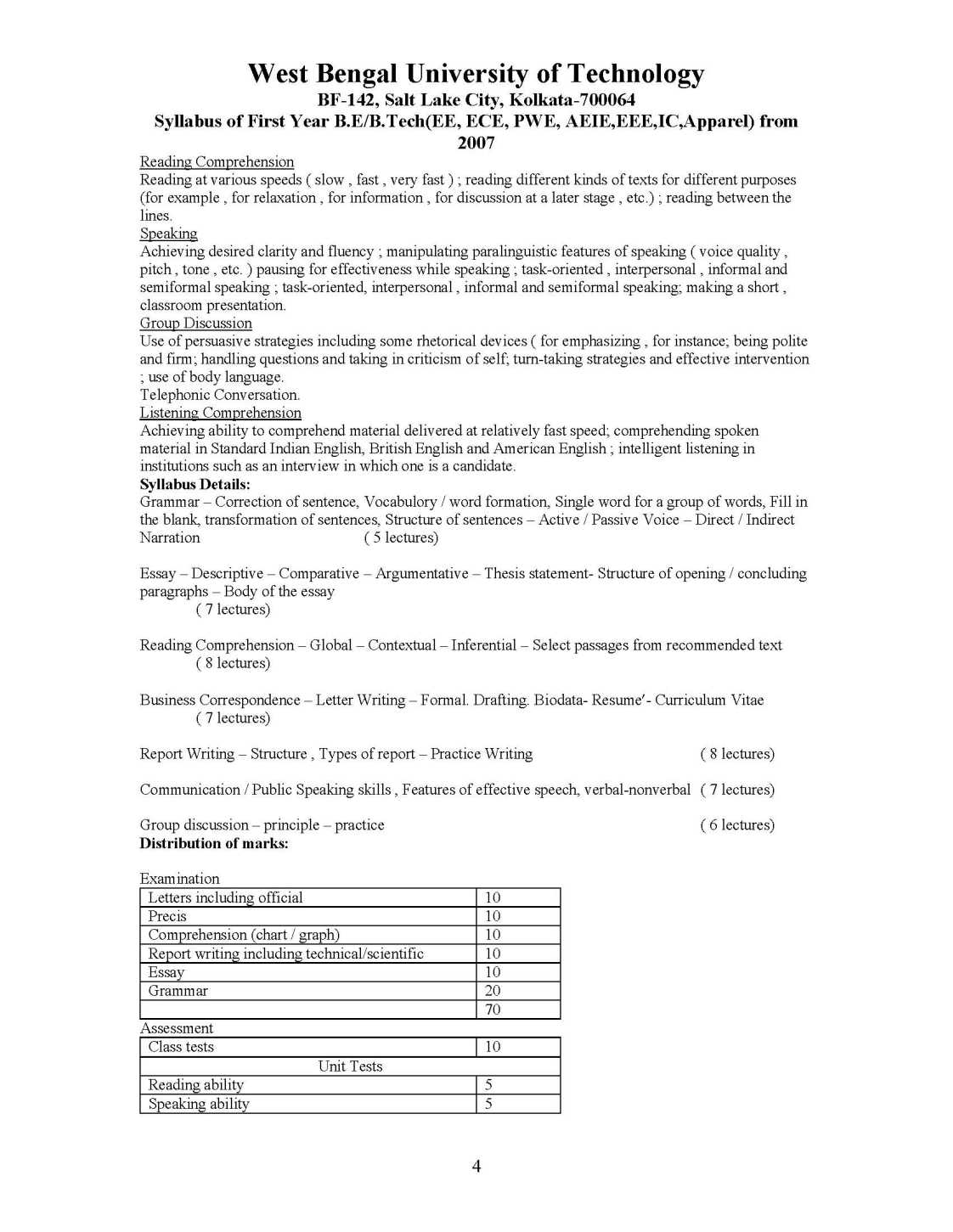writing lab 7 8 syllabus