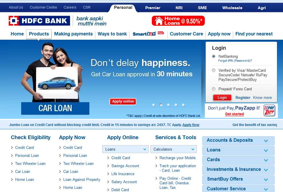 Hdfc forex card online account