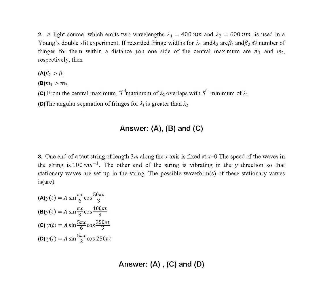 2018 2019 Student Forum - Jee Advanced Guess Paper