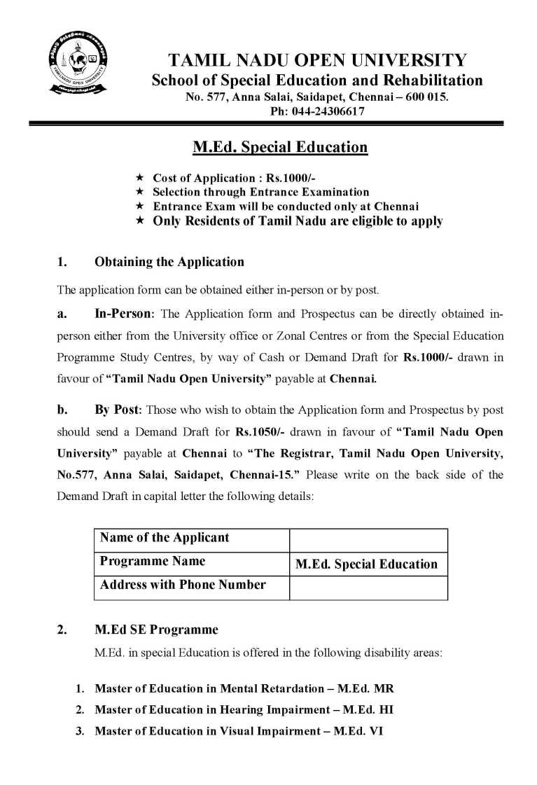 tamil nadu open university assignment 2015