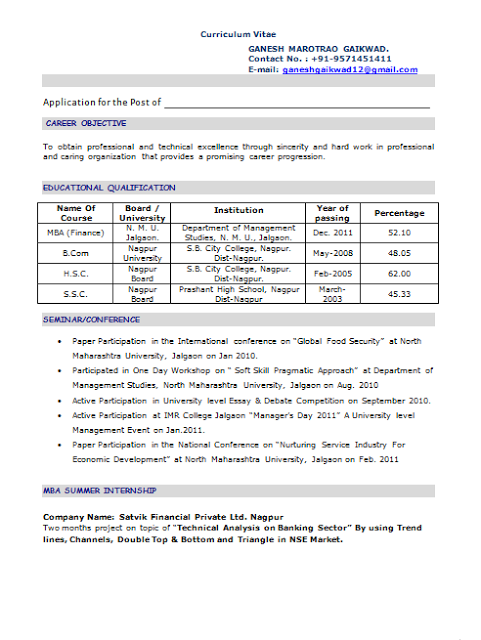Png Resume Pinterest Professional Resume Resume Template Of A Computer  Science Engineer Fresher With Great Career