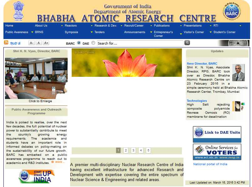 atomic research centre Welcome to bhabha atomic research centre (barc) recruitment 2012 section from time to time bhabha atomic research centre (barc) recruitment 2012 is inviting.