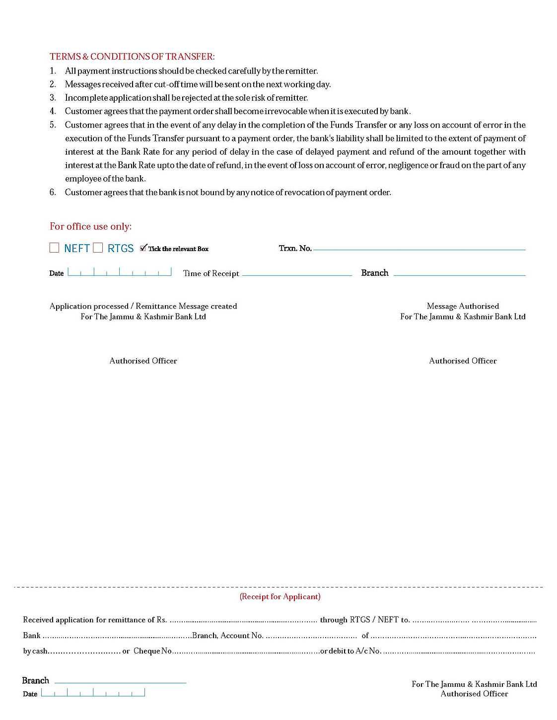 Canara Bank Neft Application Form - The Freddy Files Five Nights At ...