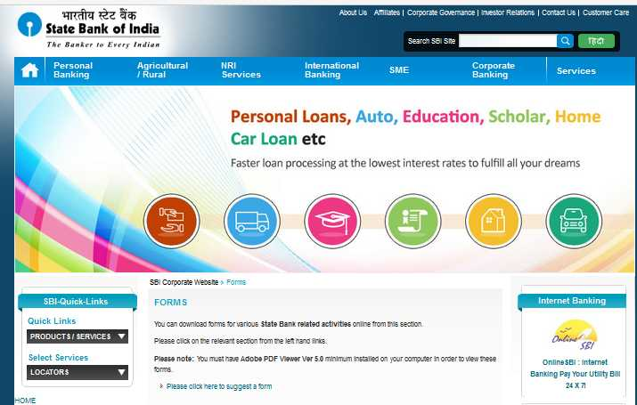Sbi online forex trading account