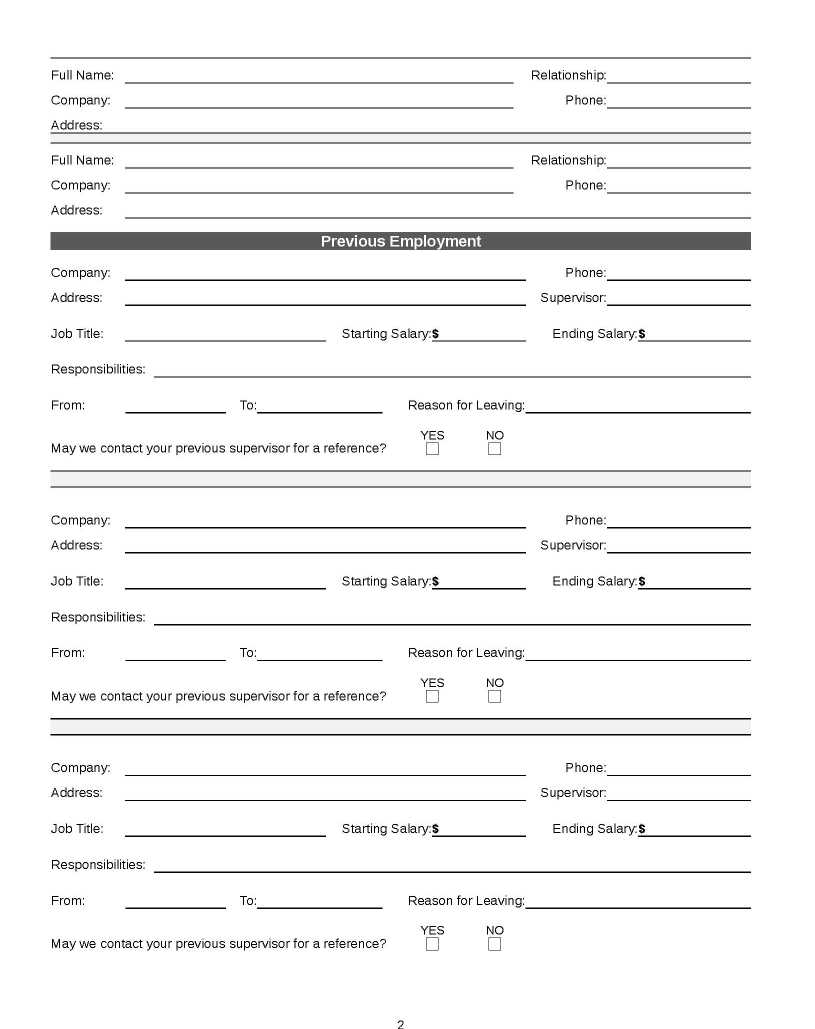 Free Job Application Form Template 2018 2019 Student Forum