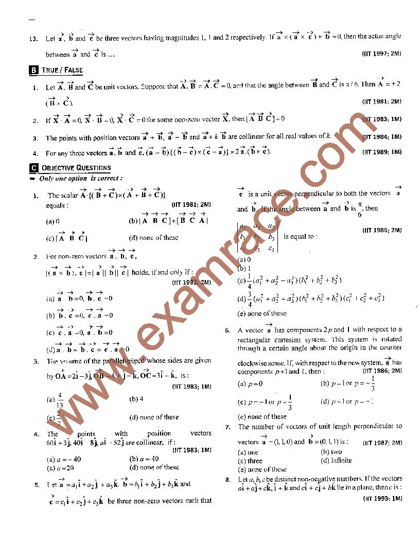 iit questions At eduncle, you can download the iit jam question papers for previous years with their answer keys  iit jam is indian institute of technology .