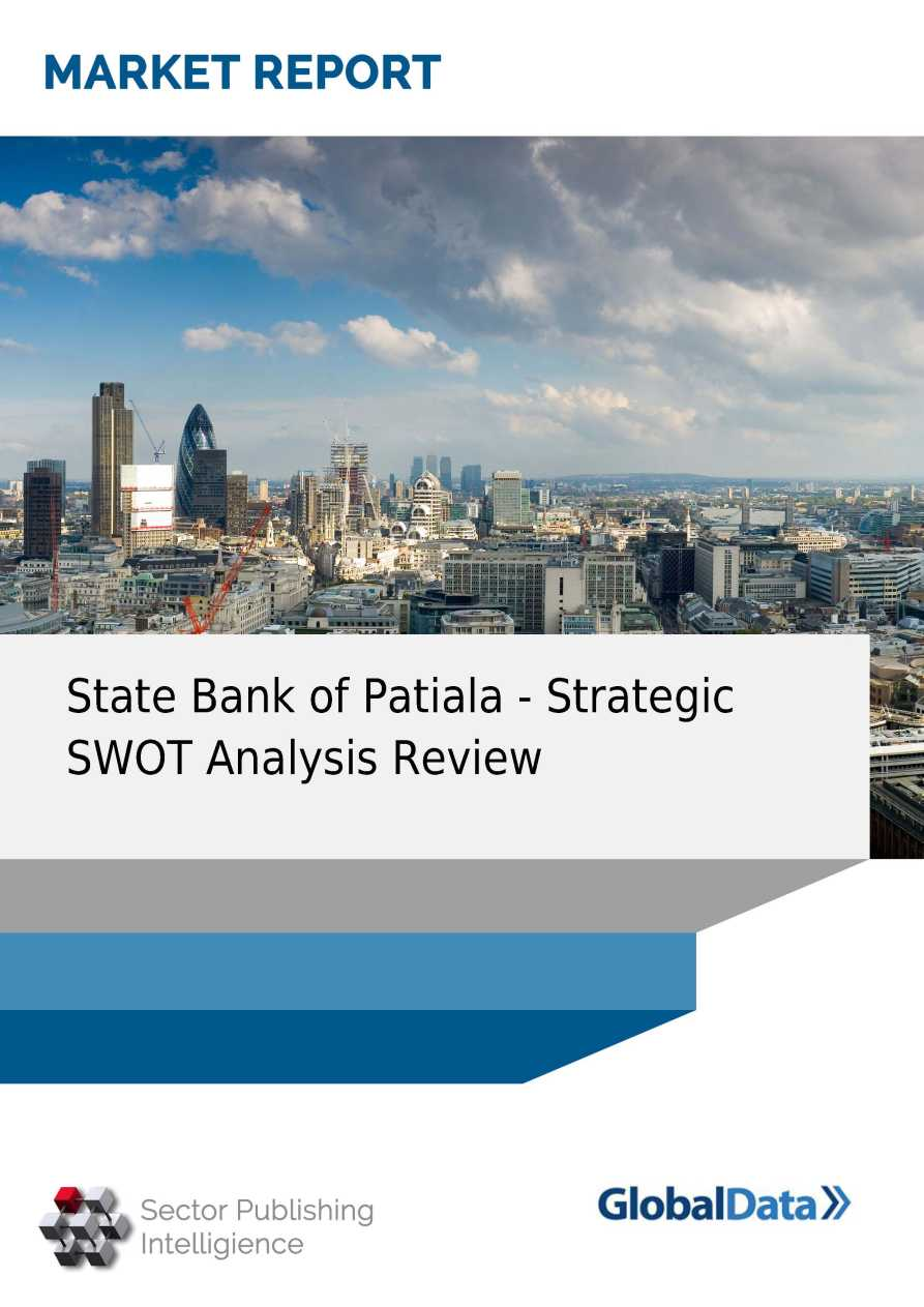 state bank of india company analysis Synopsis, timetrics state bank of india (sbin) : company profile and swot analysis contains in depth information and data about the company and its operations the.