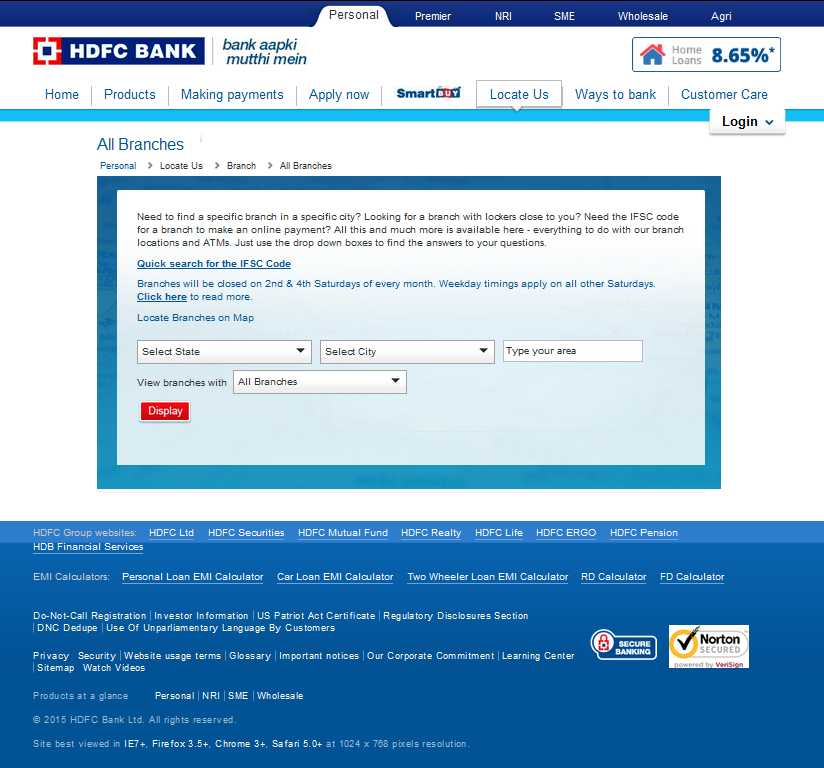 Hdfc forex branch gurgaon
