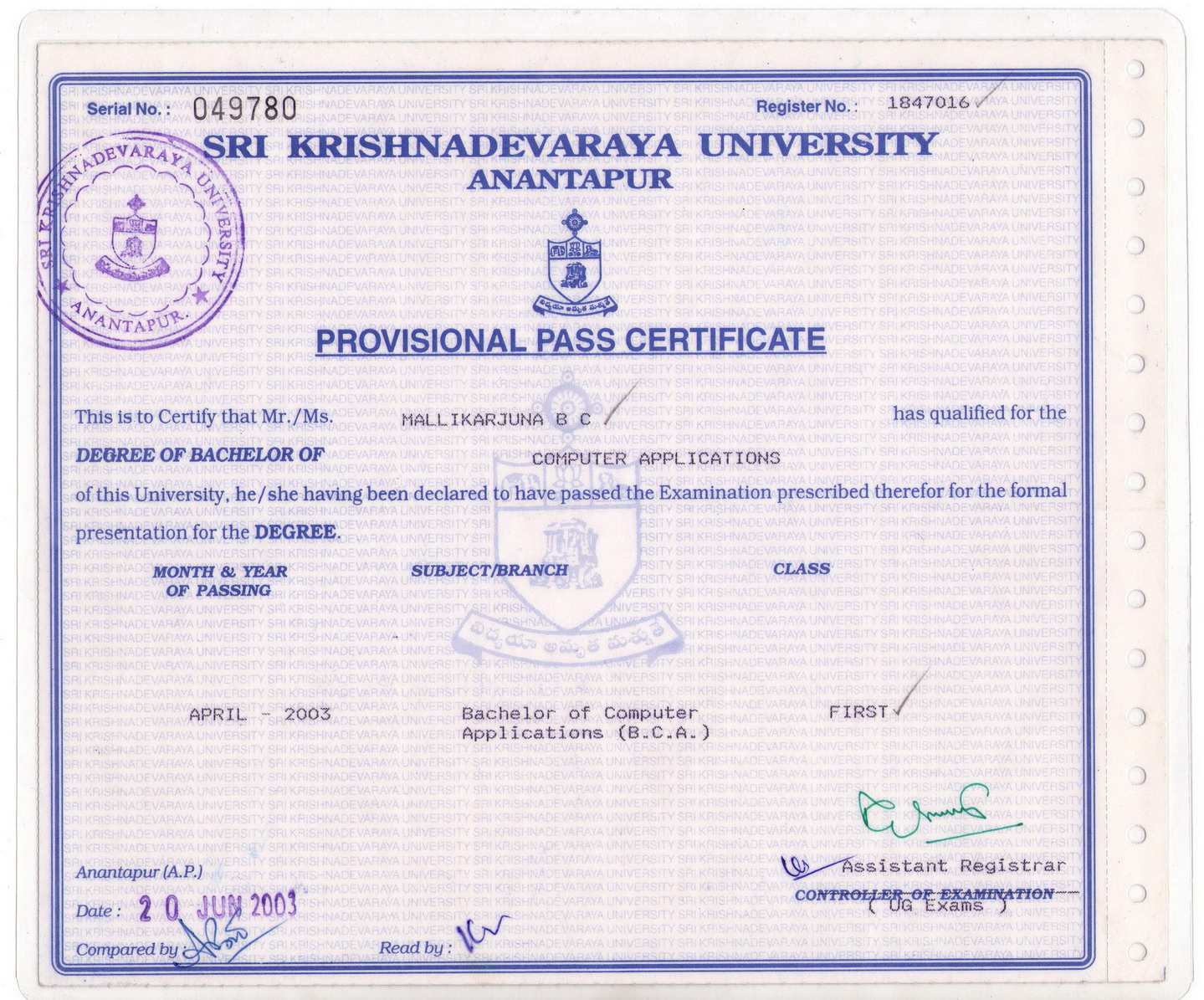 Andhra university degree certificate sample image collections andhra university degree certificate 2018 2019 student forum andhra university degree certificate andhra university degree certificate yadclub Image collections