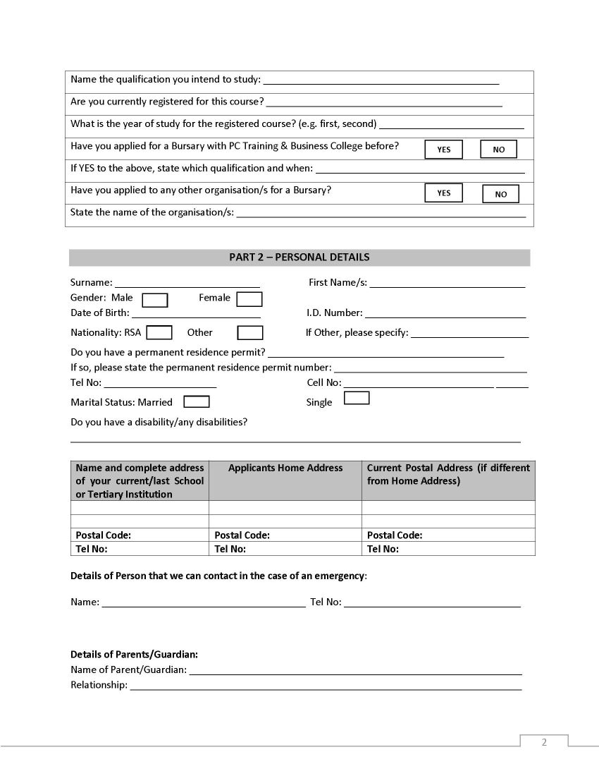 bmw bursary application form 2019 pdf