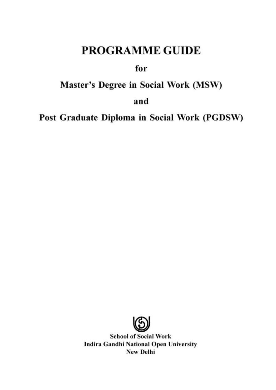 msw coursework Nasw california online ce program.