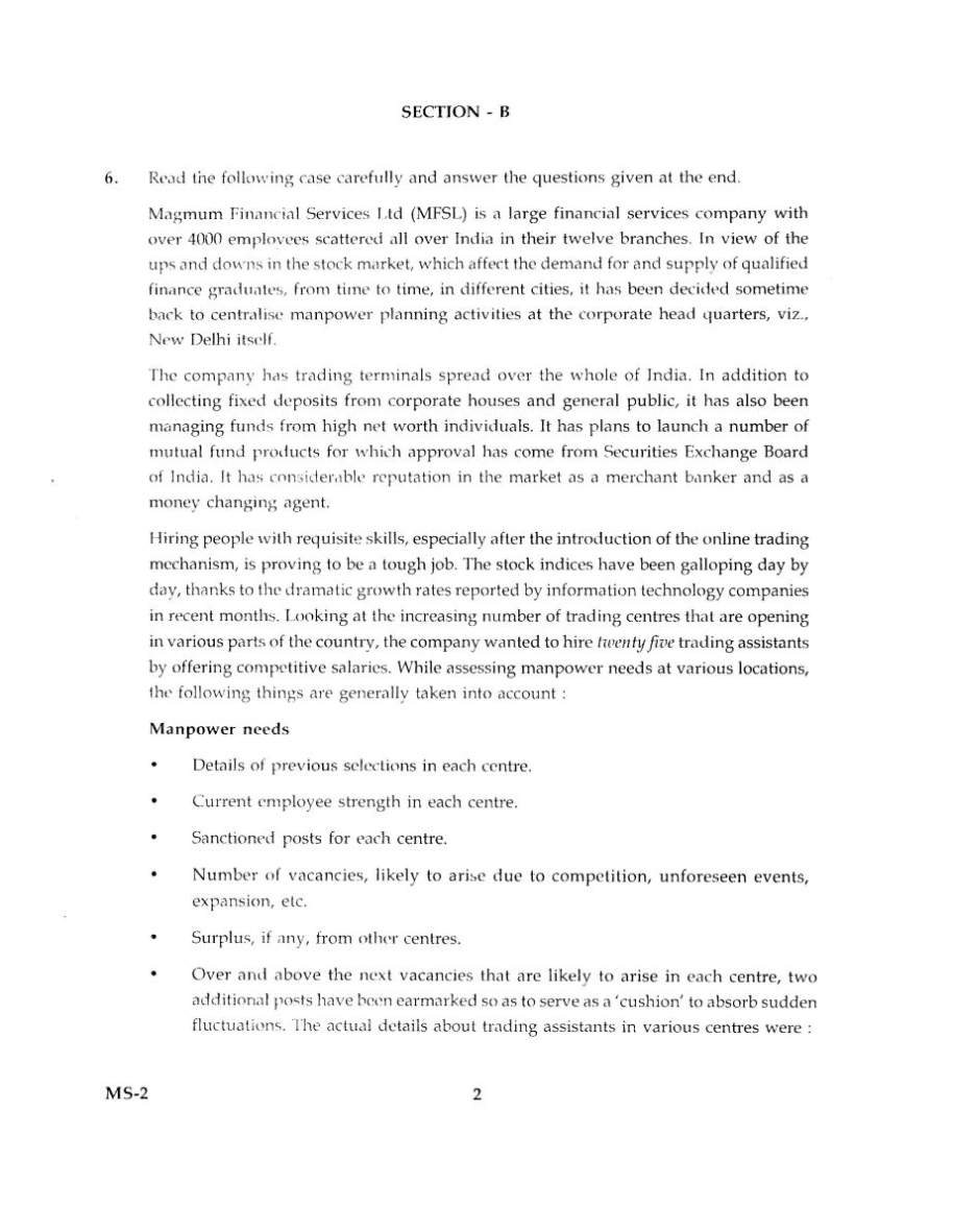 ignou mba assignments dec 2012 answers