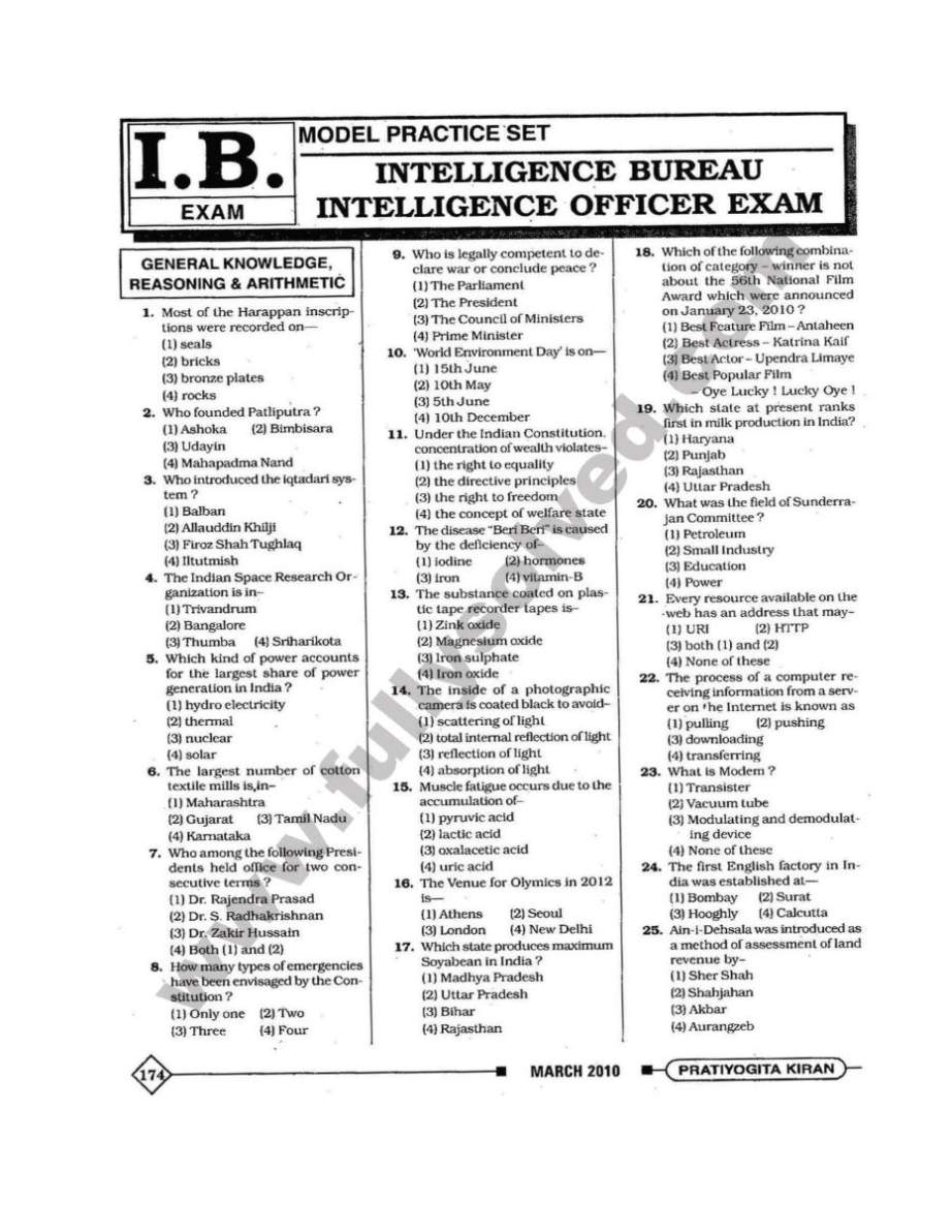 essay writing for intelligence bureau