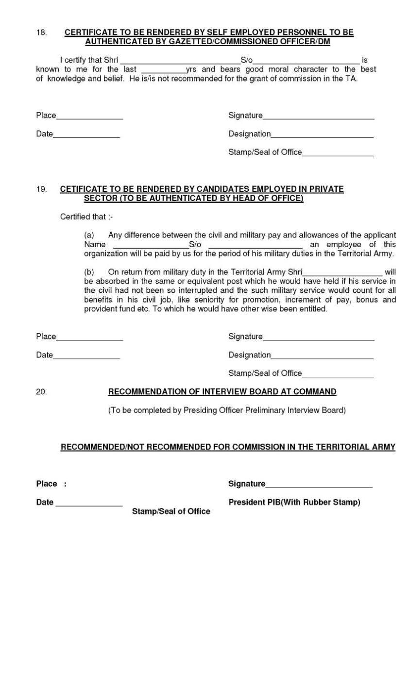How To Join The Indian Territorial Army Solution For How To For
