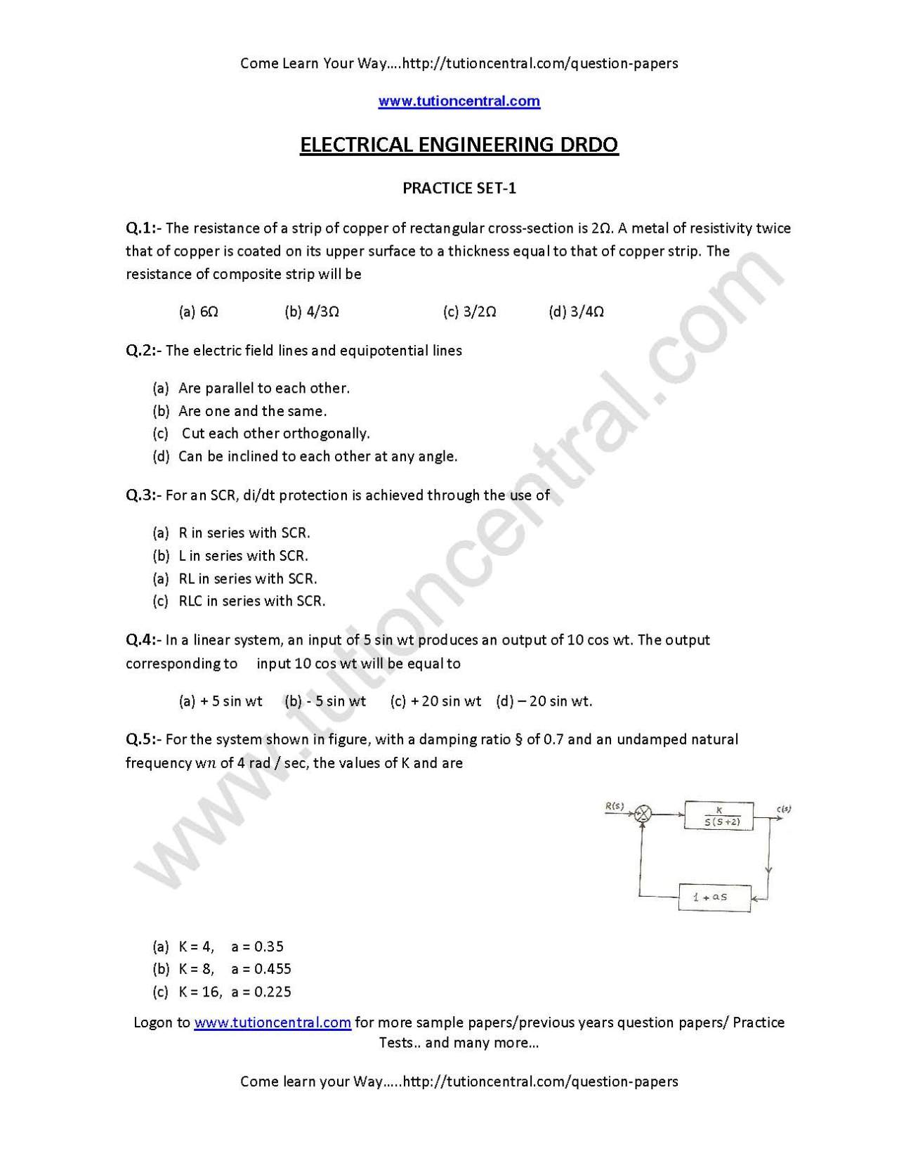 Drdo question paper for computer science pdf download.
