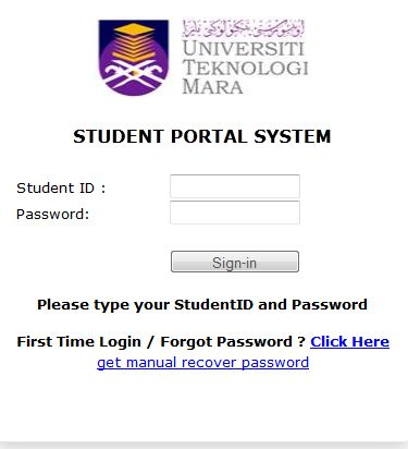 Student Portal Uitm Login 2020 2021 Student Forum