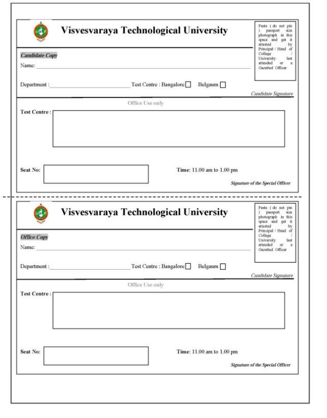 Vtu phd course work exam 2013