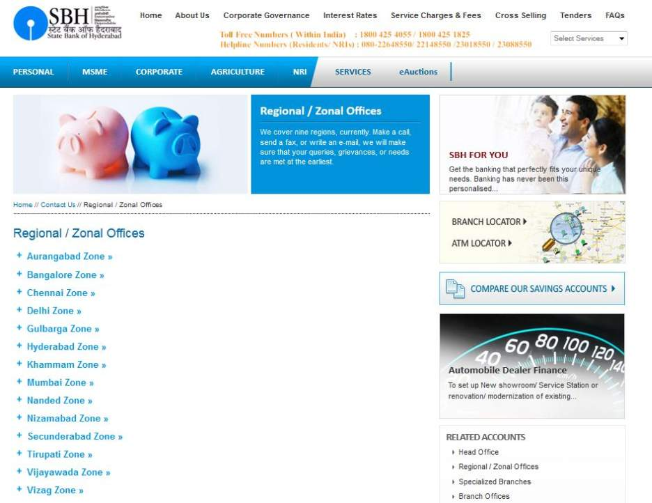 central bank of india regional office chennai address