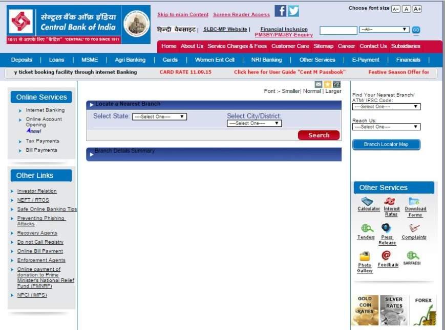 ifsc code of central bank of india rajmahal road vadodara