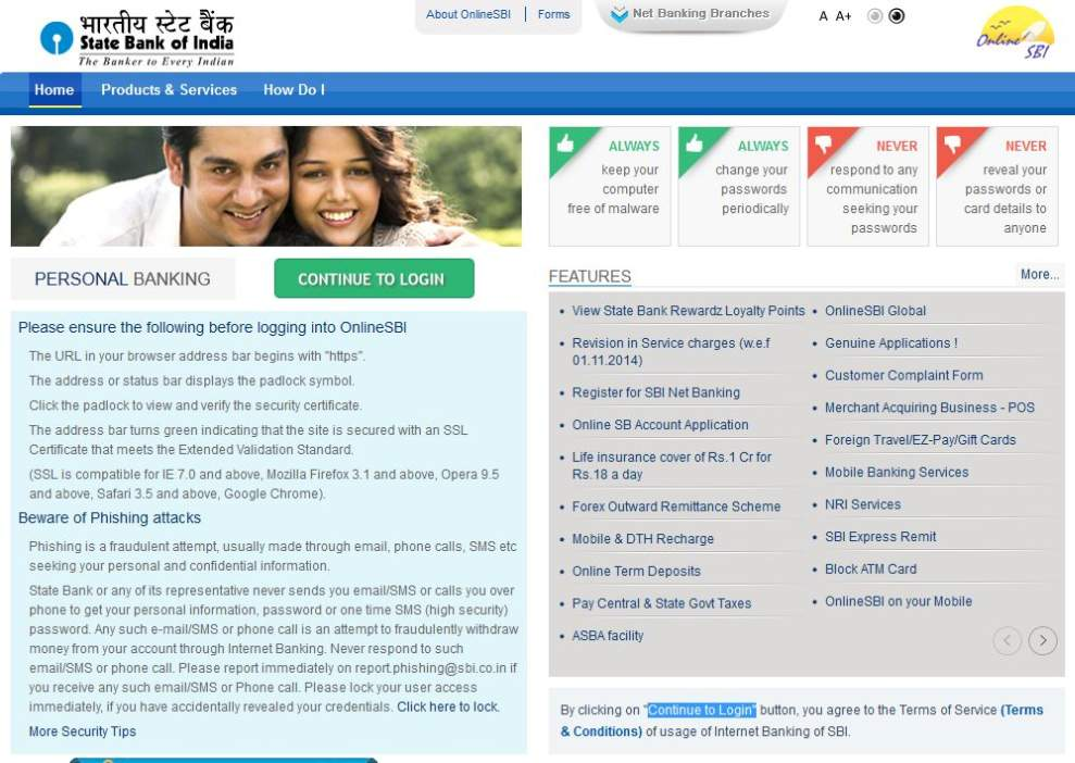 i want to check my account balance in indian bank online