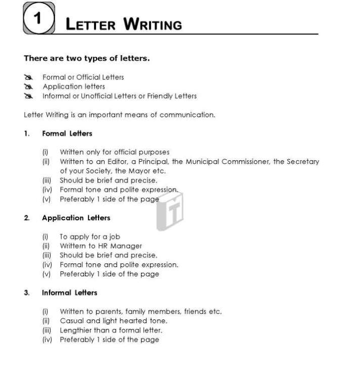 Friendly Letter Format Pdf from management.ind.in