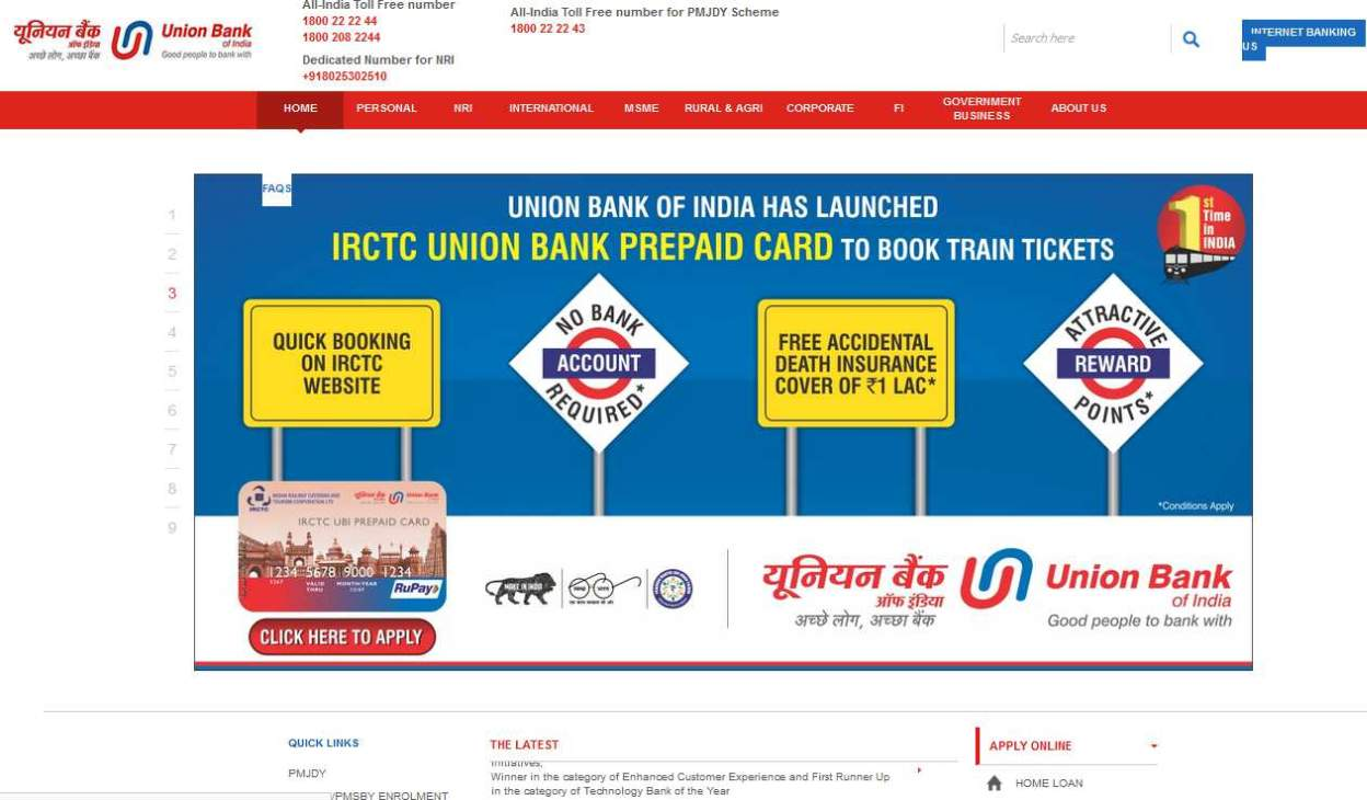 union bank of india branches in delhi dwarka
